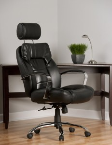 comfort products 605800t commodore ii oversize leather chair - Heavy Duty Office Chairs