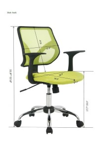 good petite office chairs