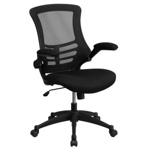 Mid-Back Mesh Task Chair with Flip-Up Arms  sc 1 st  Office Chair Accessories & Best Orthopedic Office Chairs - Oprthopedic Office Chair Reviews