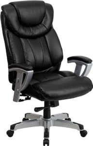 Leather Executive With Adjule Arms